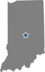 TMA Payroll Indianapolis, Indiana Map of Indiana